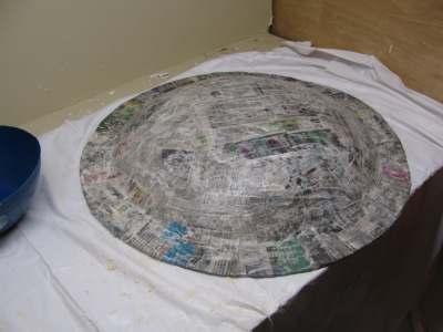 paper-mache-is-applied